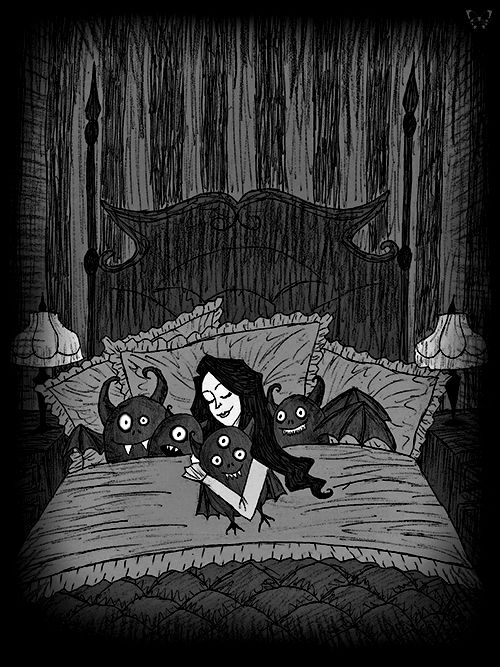 0b41f0dee29fb30d3c083715af905c19--monster-under-the-bed-creepy-quotes
