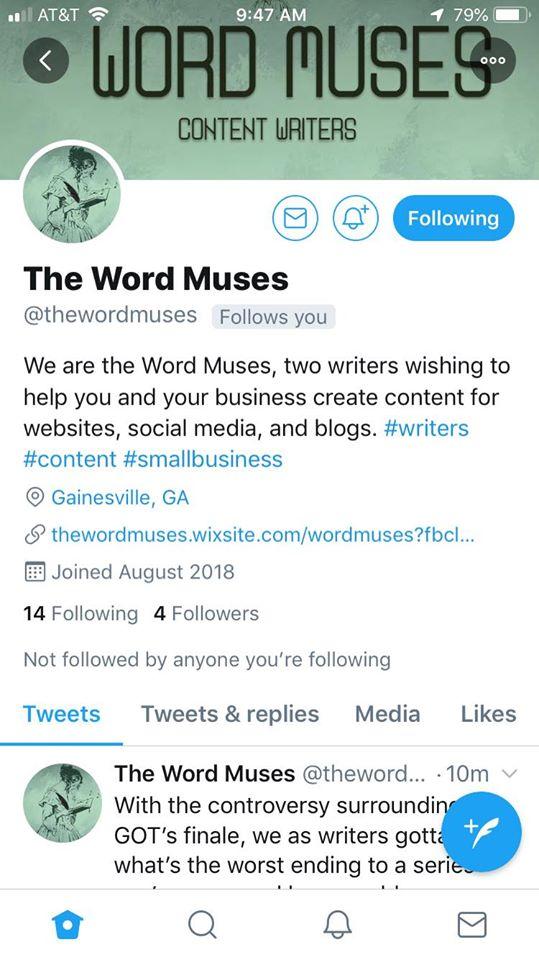 TwitterWordMuses
