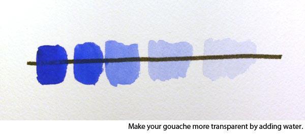 gouache paint 2